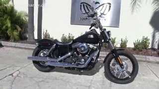 2015 harley davidson fxdb street bob for sale in clearwater