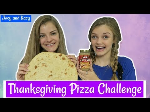 Thumbnail: Thanksgiving Pizza Challenge ~ Jacy and Kacy