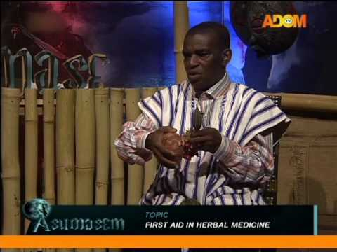 First Aid in Herbal Medicine - Asumasem on Adom TV (8-6-16)