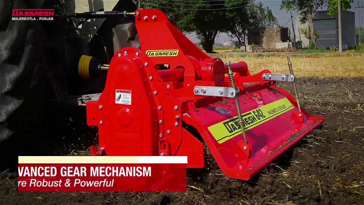 DASMESH 642 - Roto Seed Drill - Malerkotla, Punjab, INDIA  ::