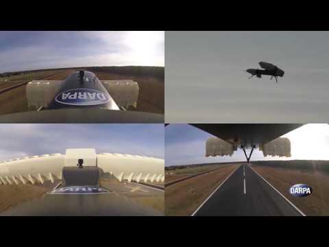 DARPA / Aurora Flight Sciences, VTOL X-Plane, sub-scale electric ducted fan prototype flight-testing