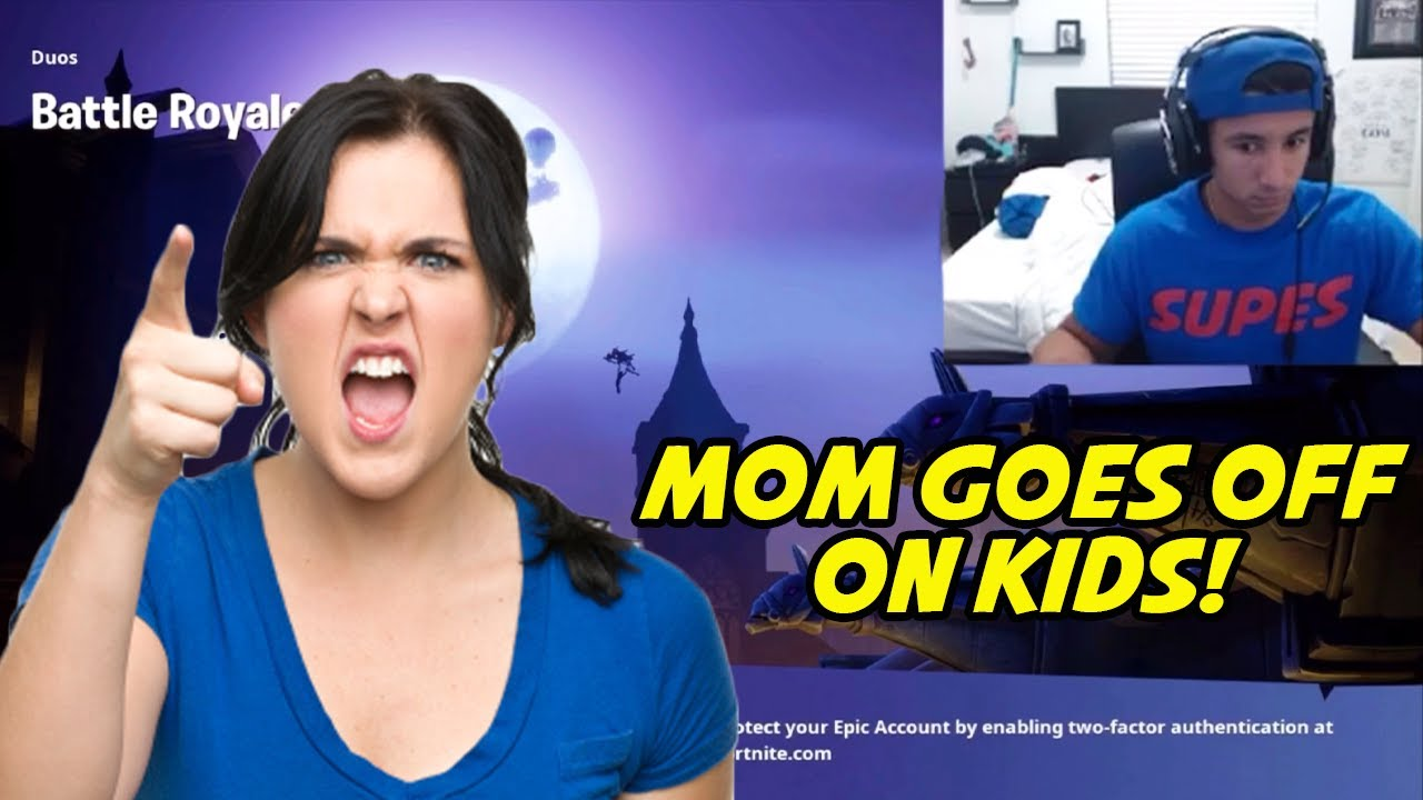MOM RAGES AT SISTERS DURING FORTNITE LIVESTREAM!