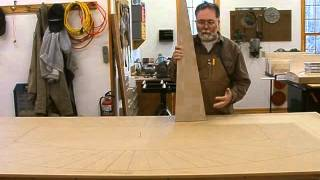Making A Veneered Executive Desk Part 4-4, Sunburst Veneer: Andrew Pitts~furnituremaker