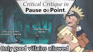 Pause on Point: Only good villains allowed