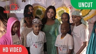 Uncut - tamannaah bhatia lighting the lamp at the fundraiser in aid of kids suffering from cancer