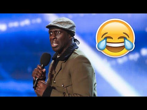 Britain's Got Talent Top 5 COMEDIANS (Auditions)