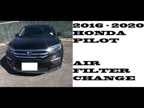 How to replace Air Filter in Honda Pilot 2016-2020
