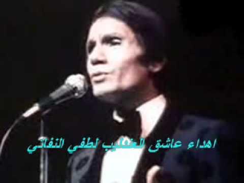 اشتقت اليك فعلمنى أن لا أشتاق...عبد الحليم حافظ