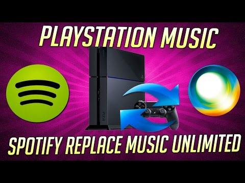 Spotify is Coming To PS4 and Will Replace Music Unlimited ( Playstation Music App )