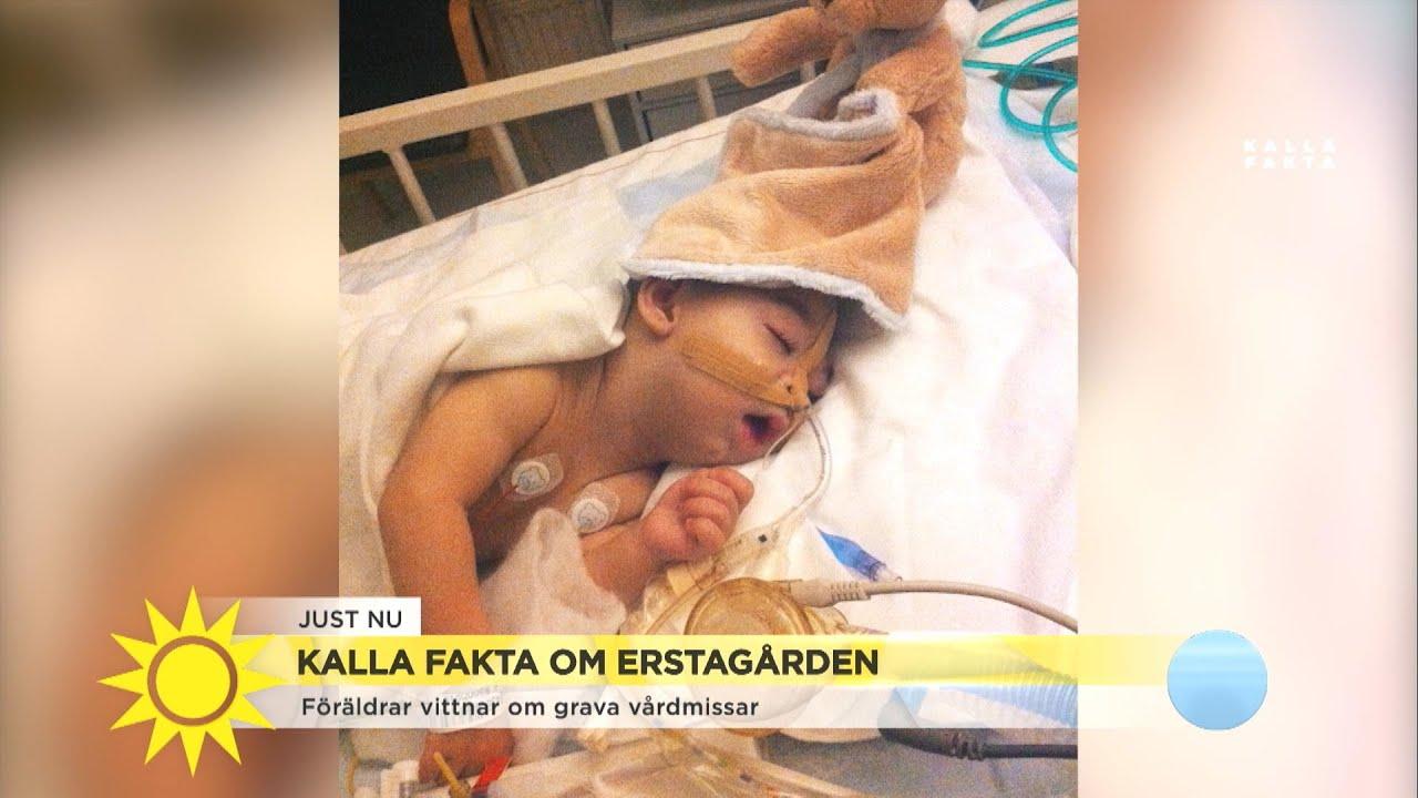 """Föräldrar vittnar om grava vårdmissar på Lilla Erstagården: """"Det kändes inte tr - Nyhetsmorgon (TV4)"""