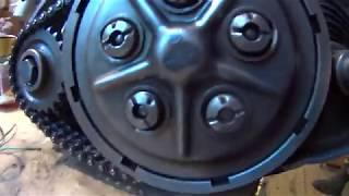 Двигатель ИЖ 56 (сцепление)