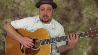 2 mind blowing but simple tricks to playing acoustic blues (Key of G)