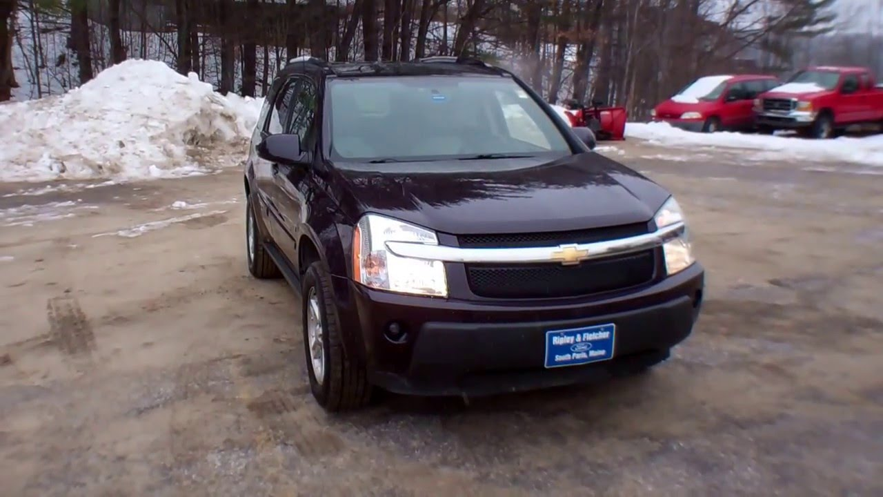 best price 2006 chevy equinox awd for sale near portland maine youtube. Black Bedroom Furniture Sets. Home Design Ideas