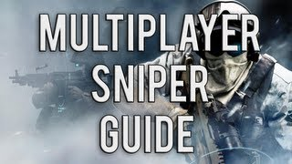 Ghost Recon Future Soldier Multiplayer Sniping | Scout Guide