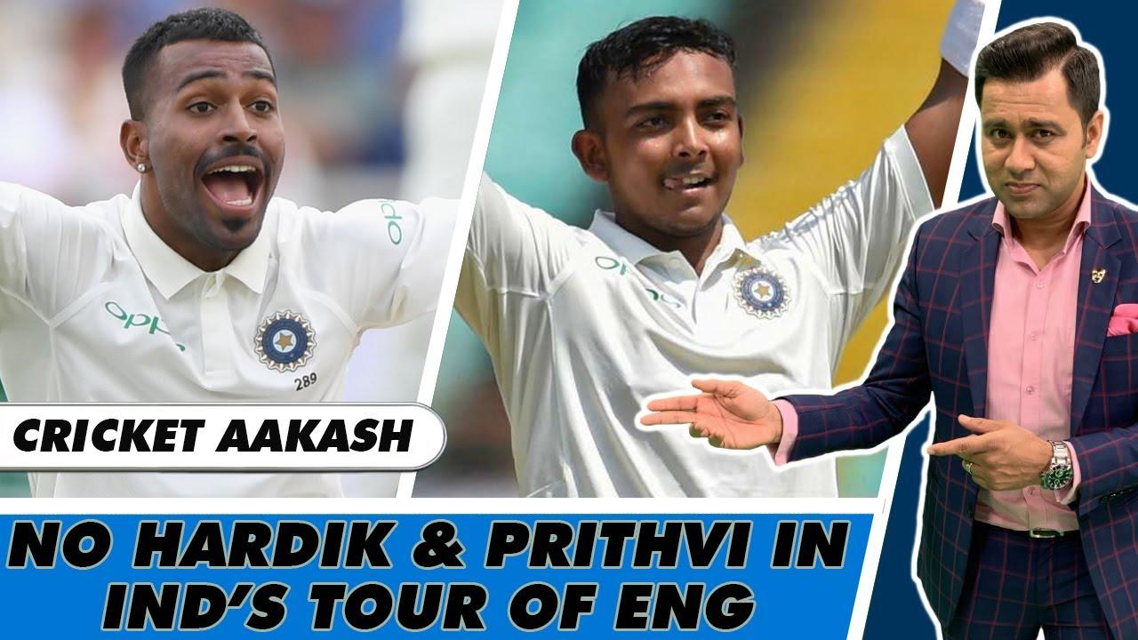 No HARDIK, PRITHVI & KULDEEP in IND's SQUAD for WTC Final & ENG Series   Cricket AAKASH