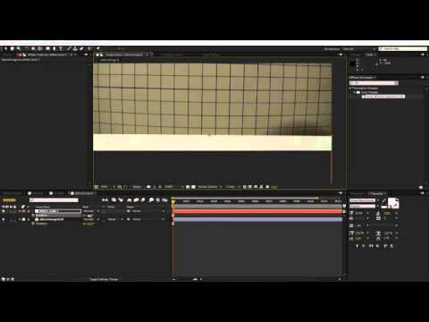 Correcting Barrel Distortion And Compositing 3D Elements Using PFTrack,  Maya And After Effects
