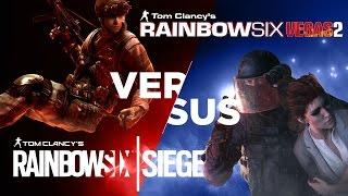 Rainbow Six Siege VS Rainbow Six Vegas 2 - Qu