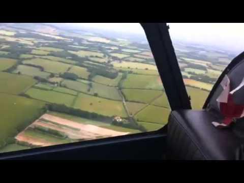 Alka flying Westland Scout 2