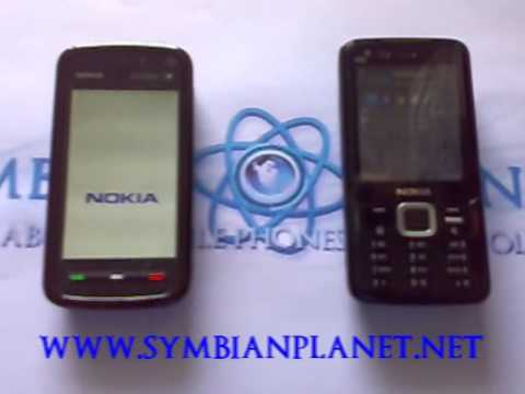 Nokia 5800XM vs N82: Boot Time and Shut Down Video