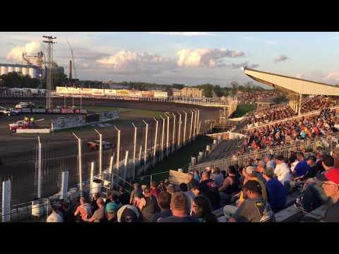 2019 July 12th World of Outlaws B-main River Cities Speedway