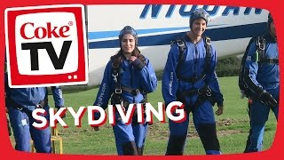 Dodie's Skydiving Challenge w/ HurderOfBuffalo | #CokeTVMoment