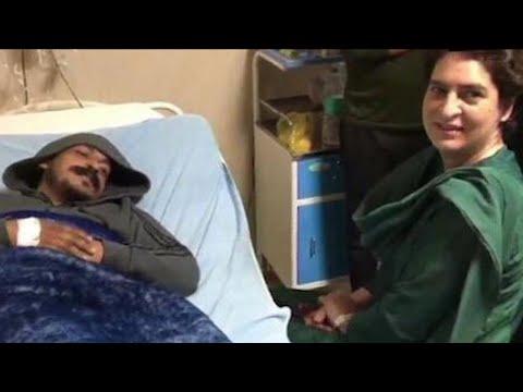 Priyanka Gandhi meets Bhim Army chief Chandrashekhar Azad in Meerut