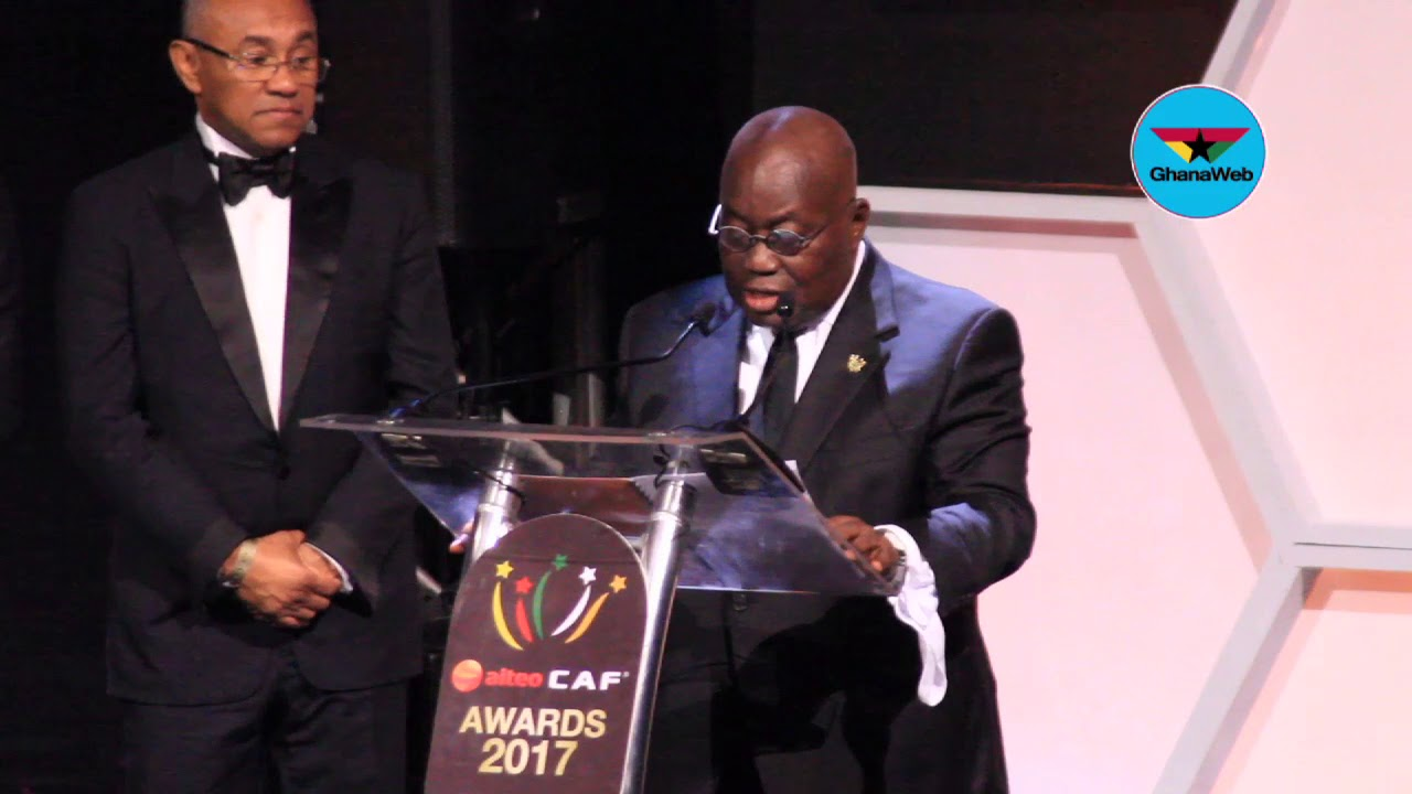President Akufo-Addo's full speech at the CAF Awards