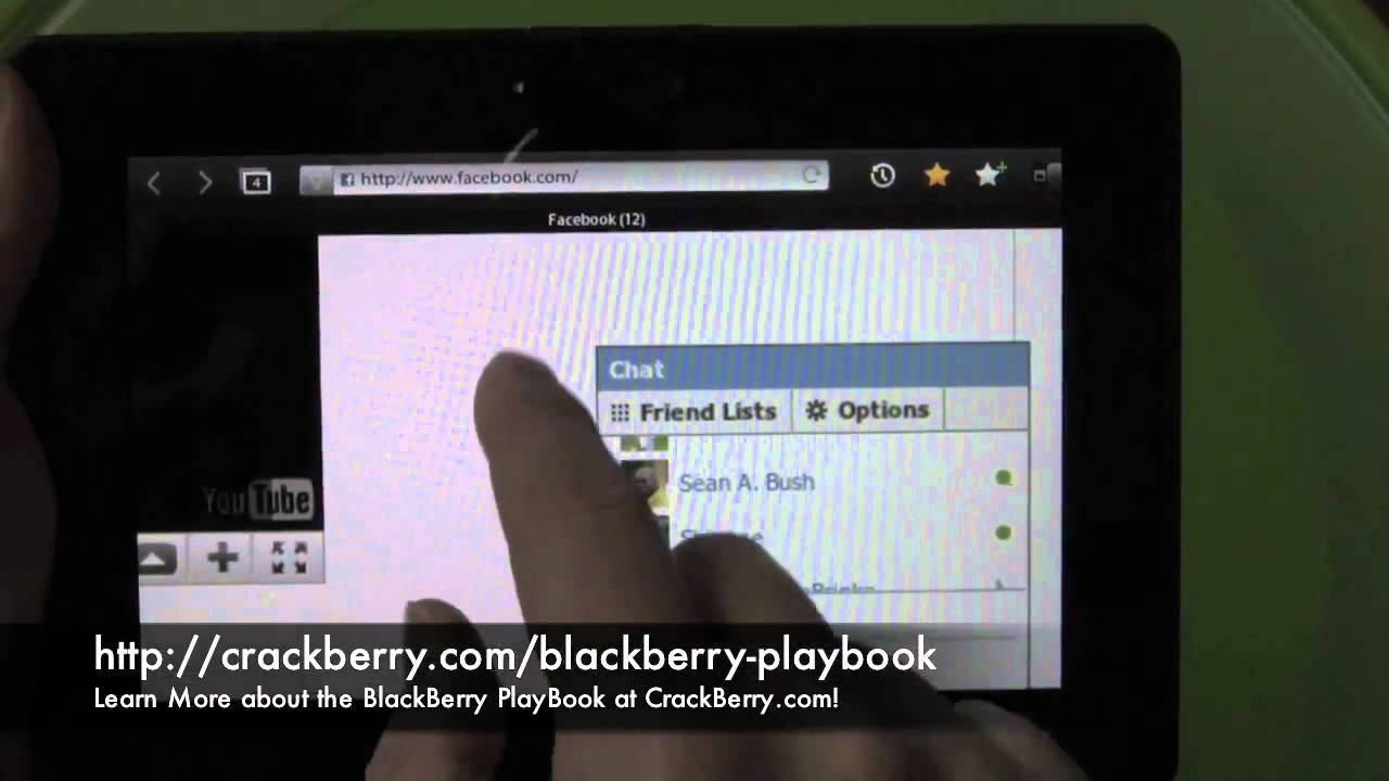 youtube downloader blackberry playbook