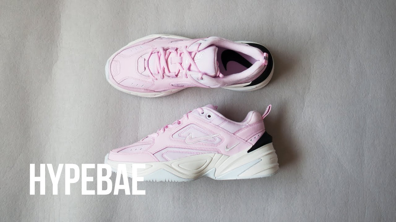 fc5f25fd44a890 Pink Nike M2K Tekno Unboxing - YouTube