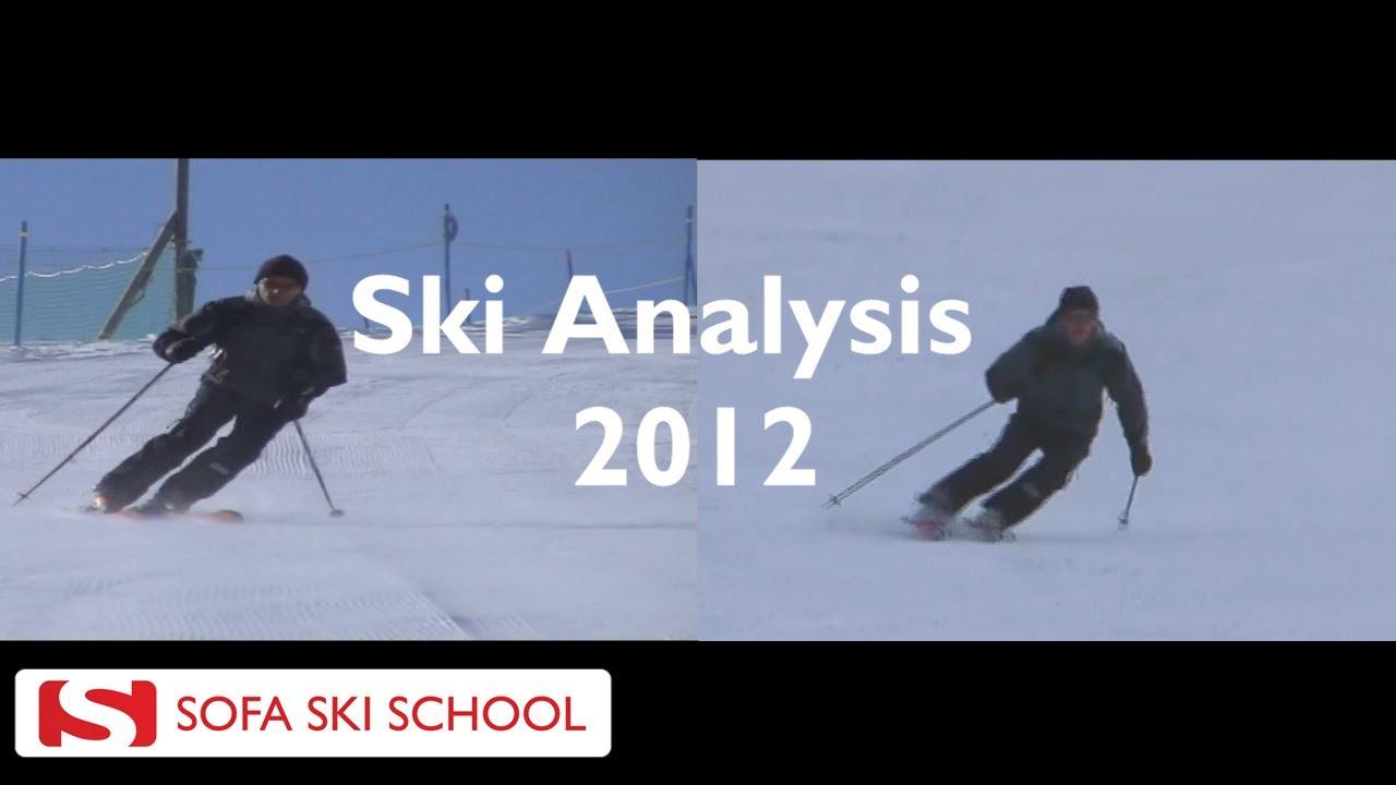 Exceptional Sofa Ski School   Ski Analysis 2012   YouTube