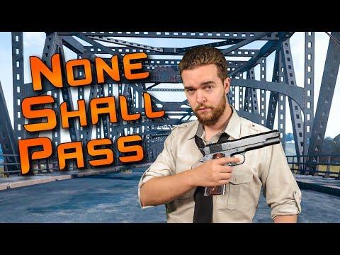 PUBG Bridge Roadblock Strategy