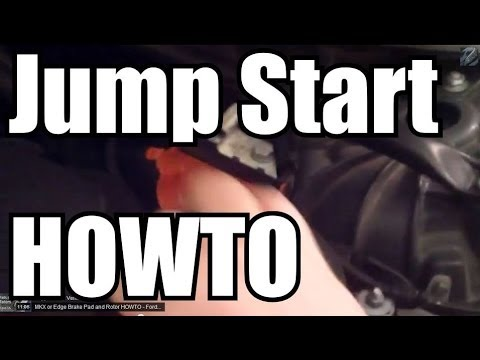 BMW 5 Series HOWTO Jump Start The Car