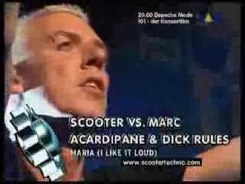 Scooter - Maria (I Like It Loud)(Viva TV 2003)