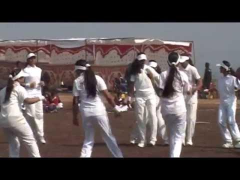 Inter School athletic meets at Maa Jinwani Public School Pushpgiri teerth 29 dec 2014
