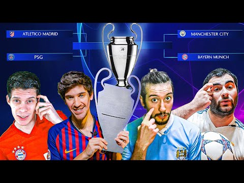PREDICCION CHAMPIONS LEAGUE 2020  Los Displicentes