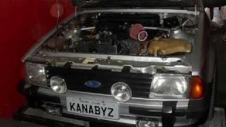 Ford Escort MK3 XR3 1.6 CHT Dyno