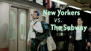 Watch NYers' Hearts Break As They JUST Miss The Subway Train thumbnail