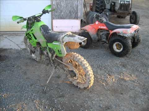 KDX 200 1990 Rebuildwmv