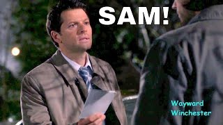 Misha Collins Accidentally Talks In His REAL Voice Instead Of Castiel Voice On Supernatural!