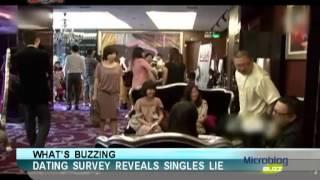 Dating survey reveals singles lie - Microblog Buzz - March 21,2013 - BONTV China