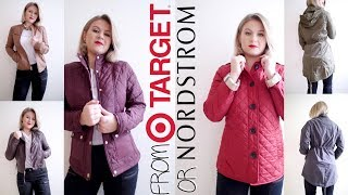 CHEAP VS EXPENSIVE JACKETS: Is it from Target or Nordstrom   Milabu