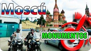 Monumentos de Moscu. La vuelta al mundo en moto. www.lacircunvalacion.com
