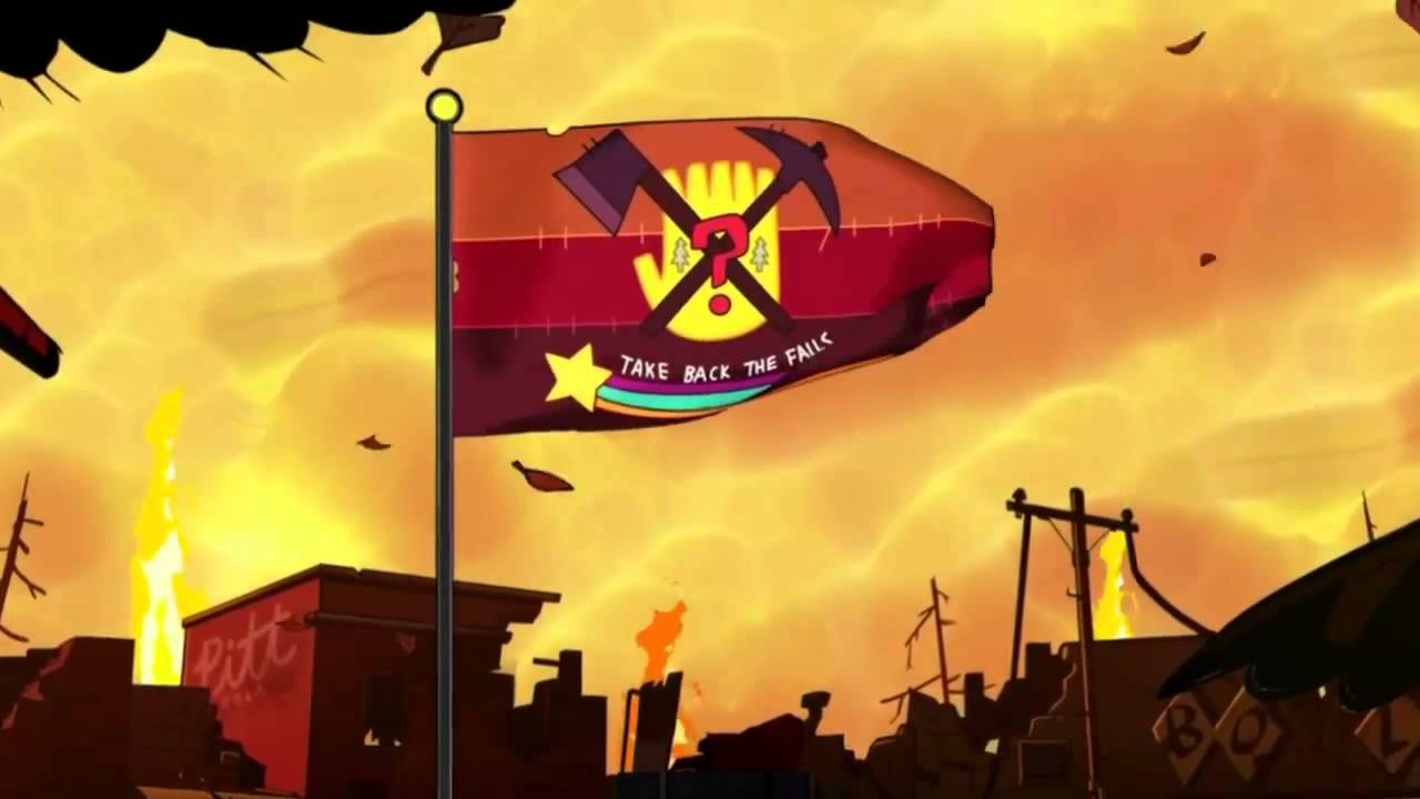 Wallpaper Pato Gravity Falls Gravity Falls Weirdmageddon Part 3 Teaser Series Finale