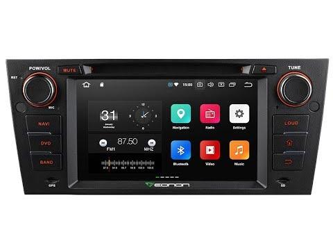 eonon bmw e90 e91 e92 e93 android 8 0 car stereo product. Black Bedroom Furniture Sets. Home Design Ideas