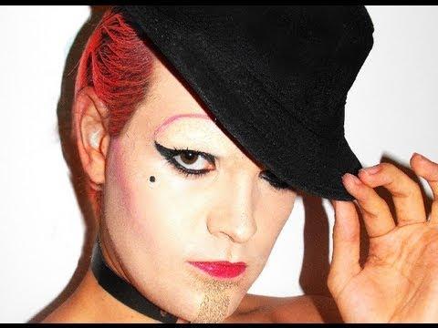Columbia - Rocky Horror - Make Up Tutorial!