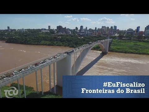 #EuFiscalizo - 15 Fronteiras do Brasil