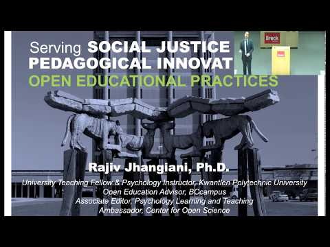 Serving Social Justice with Open Education Practices