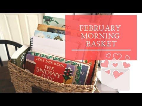 February Morning Basket || Back to Basics