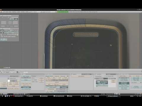 Blender Modeling timelapse Part 3: Samsung m3510