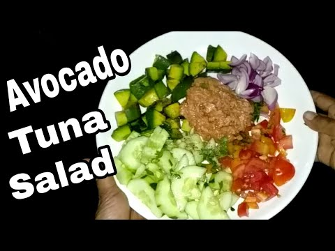 Avocado Tuna Salad | Healthy Foodie